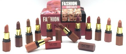 Губная помада NOTE Fashion Matte Colors Matte Lipstick (12 шт)