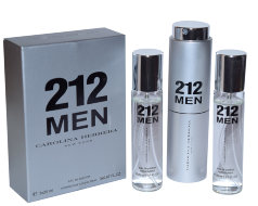 Духи 3 по 20 мл 212 VIP Men Carolina Herrera (Men)
