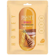 JIGOTT Ампульная тканевая маска c экстрактом меда Honey Real Ampoule Mask, 27 мл
